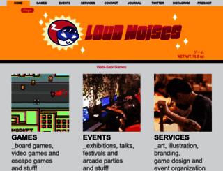 loudnoises.com.br screenshot