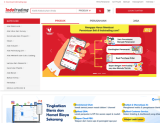 louis.indotrading.com screenshot