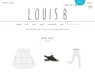 louisbboutique.com screenshot