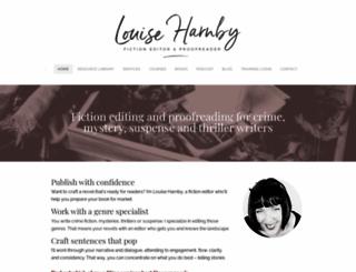 louiseharnbyproofreader.com screenshot