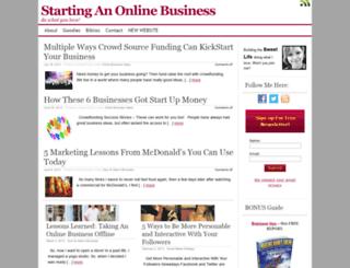 louisemandar.com screenshot