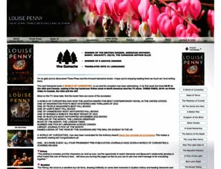 louisepenny.com screenshot
