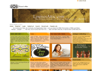 louisesattic.com screenshot