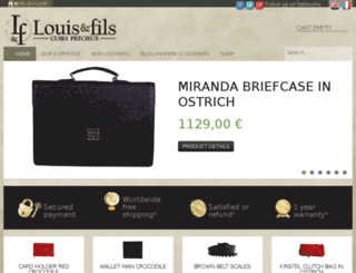 louisetfils.fr screenshot