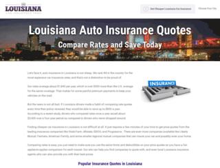 louisianacarinsurancepros.com screenshot