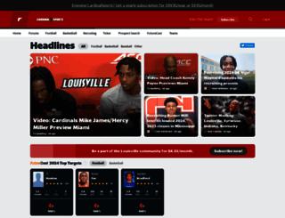 louisville.rivals.com screenshot