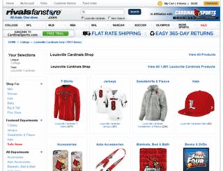 louisville.rivalsfanstore.com screenshot