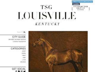 louisville.thescoutguide.com screenshot