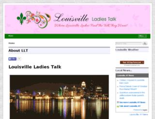 louisvilleladiestalk.com screenshot