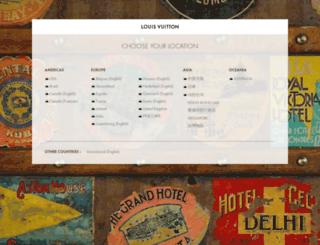 louisvuitton.com screenshot