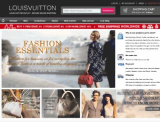 louisvuittonbrands.com screenshot