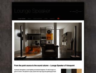 lounge-speaker.de screenshot