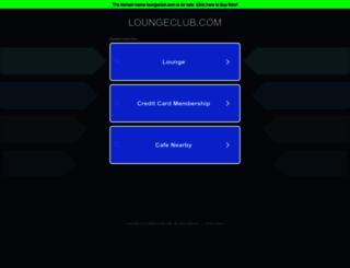 loungeclub.com screenshot