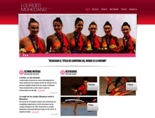lourdesmohedano.com screenshot
