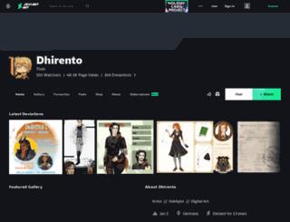 loureil.deviantart.com screenshot