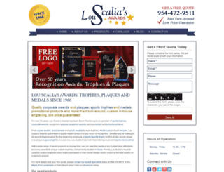 louscalias.com screenshot