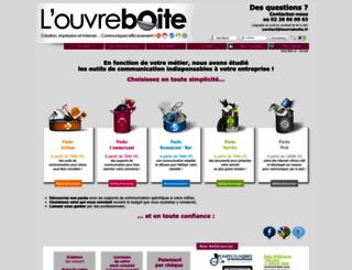 louvreboite.fr screenshot