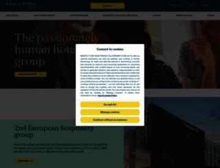 louvrehotels.com screenshot