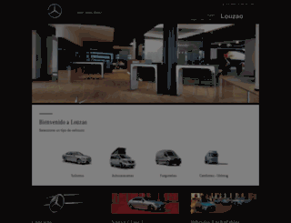 louzao.mercedes-benz.es screenshot
