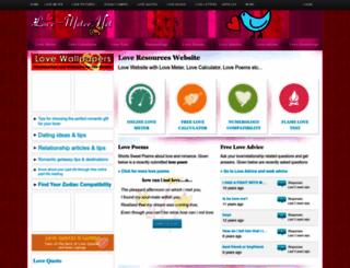 love-meter.net screenshot