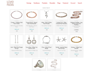 love-my-pearls.com screenshot