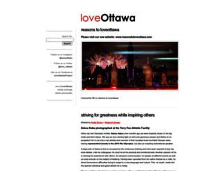 love-ottawa.com screenshot