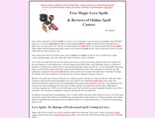 love-spells-magic.com screenshot