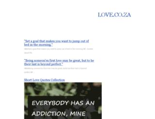 love.co.za screenshot