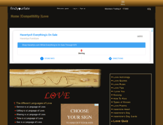 love.findyourfate.com screenshot