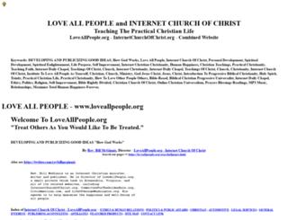 loveallpeople.org screenshot