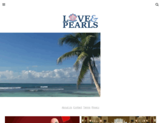 loveandpearls.com screenshot