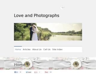 loveandphotographs.com screenshot