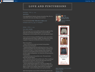 loveandpincushions.blogspot.com screenshot