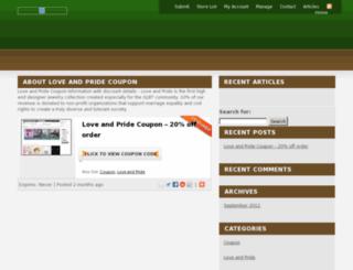 loveandpridecoupon.org screenshot