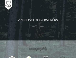 lovebike.pl screenshot