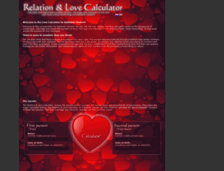 lovecalculator.cc screenshot