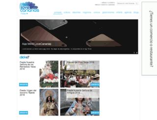 lovecanarias.com screenshot