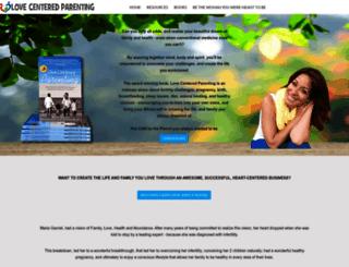 lovecenteredparenting.com screenshot