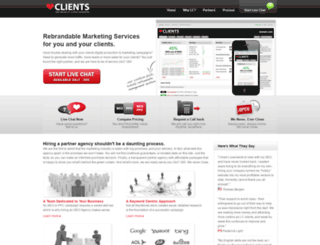 loveclients.com screenshot