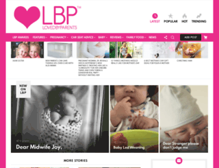 lovedbyparents.com screenshot