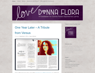lovedonnaflora.wordpress.com screenshot