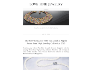 lovefinejewelry.com screenshot