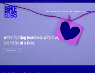 lovefortheelderly.org screenshot