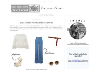 lovefrom-lisa.blogspot.com screenshot