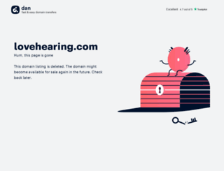 lovehearing.com screenshot