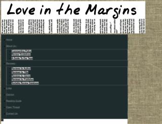 loveinthemargins.com screenshot