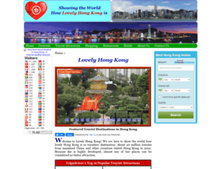 lovelyhongkong.com screenshot
