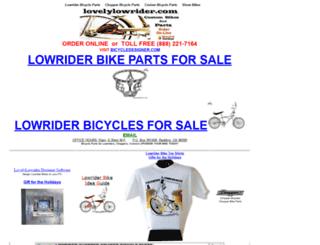 lovelylowrider.com screenshot