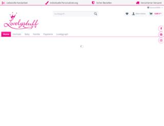 lovelystuff.com screenshot