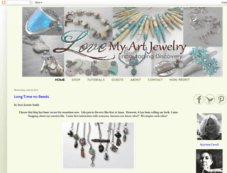 lovemyartjewelry.blogspot.com screenshot